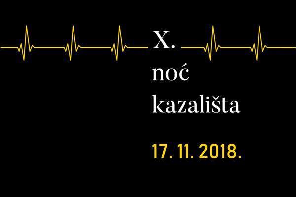 Dođite Na 10. Jubilarnu Noć Kazališta U Dječje Kazalište Branka Mihaljevića